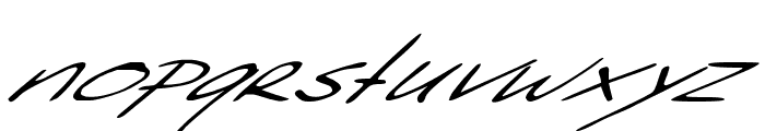 Sleight Of Hand Font LOWERCASE