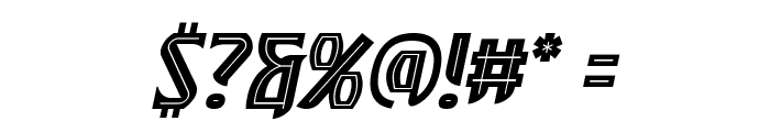 SleuthSerif BB Italic Font OTHER CHARS