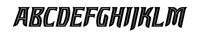 SleuthSerif BB Italic Font UPPERCASE