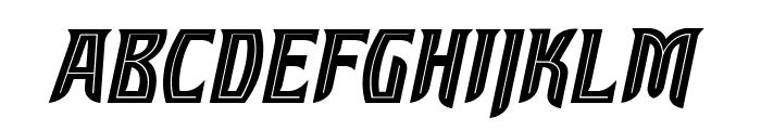 SleuthSerifBB-Italic Font UPPERCASE