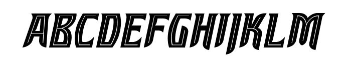 SleuthSerifBB-Italic Font LOWERCASE
