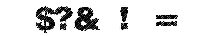 Sliced Juice Font OTHER CHARS
