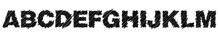 Sliced Juice Font UPPERCASE