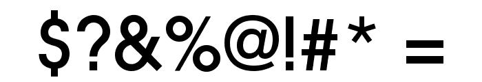 Slick Font OTHER CHARS
