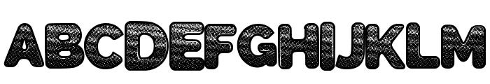 SlickWave Font UPPERCASE