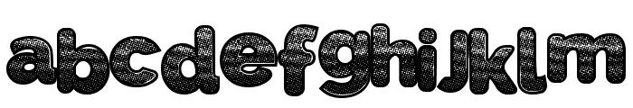 SlickWave Font LOWERCASE