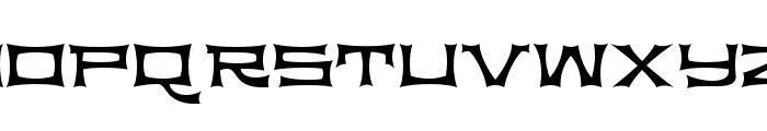 Slickhouse Font UPPERCASE