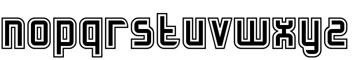 Slidfis kittlande Font LOWERCASE