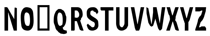 Slim Jim [part one] Font UPPERCASE