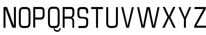 SlimSans Font UPPERCASE