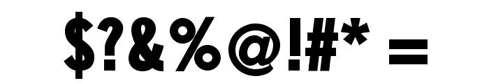 SlimSansSerif-Bold Font OTHER CHARS
