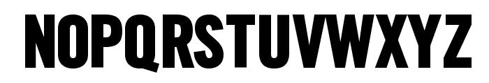 SlimSansSerif-Bold Font UPPERCASE