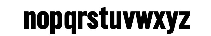 SlimSansSerif-Bold Font LOWERCASE
