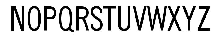 SlimSansSerif Font UPPERCASE