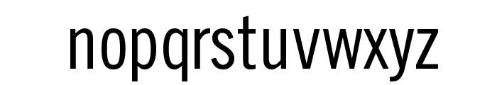 SlimSansSerif Font LOWERCASE