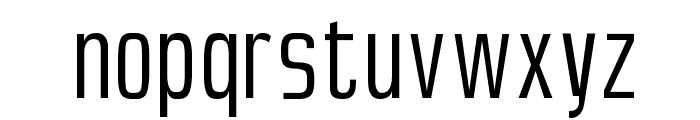 SlimSans Font LOWERCASE