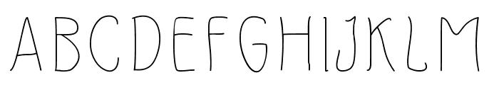 Slimamif Font UPPERCASE