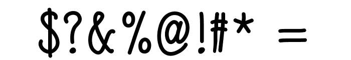 SlimamifBold Font OTHER CHARS