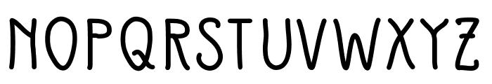 SlimamifBold Font UPPERCASE