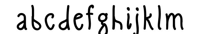 SlimamifBold Font LOWERCASE