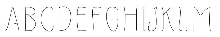 SlimamifLight Font UPPERCASE