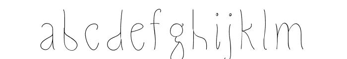 SlimamifLight Font LOWERCASE