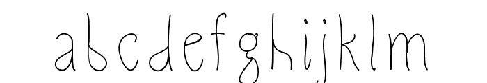 Slimamif Font LOWERCASE