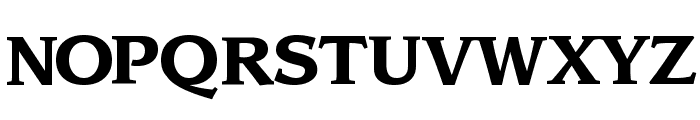 Sling Bold Font UPPERCASE