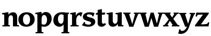 Sling Bold Font LOWERCASE