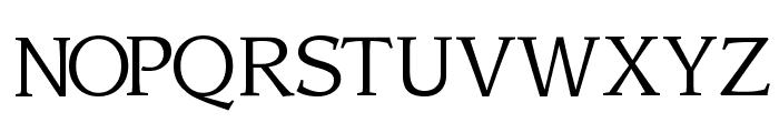 Sling Light Font UPPERCASE