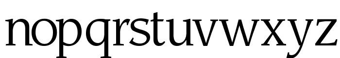 Sling Light Font LOWERCASE