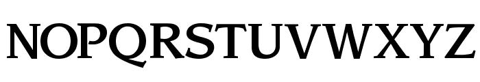 Sling Font UPPERCASE