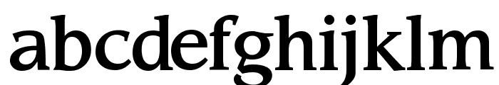 Sling Font LOWERCASE