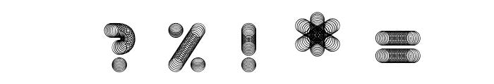 Slinkster v9 Regular Font OTHER CHARS
