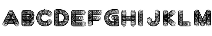 Slinkster v9 Regular Font UPPERCASE