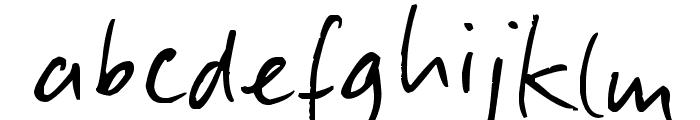 Slippery Dip Font LOWERCASE