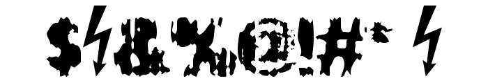 Slippy Font OTHER CHARS