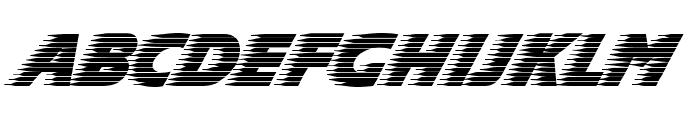 Slipstream Forward Font UPPERCASE