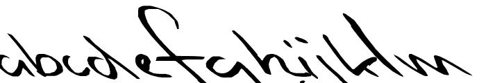 Slipstream Sweetheart Font LOWERCASE