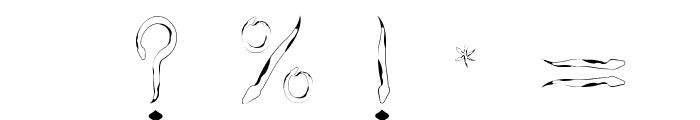 SlitherNN Font OTHER CHARS