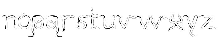 SlitherNN Font LOWERCASE