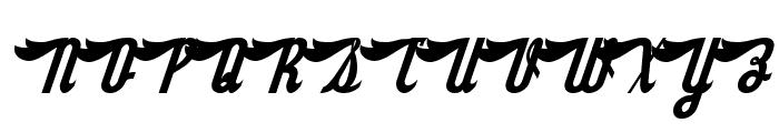Sloe Gin Rickey Font UPPERCASE