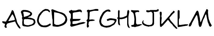 Sloneczko Font LOWERCASE