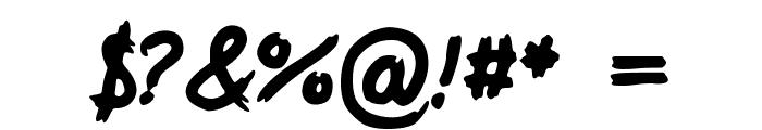 SloppyDragon_VL Font OTHER CHARS