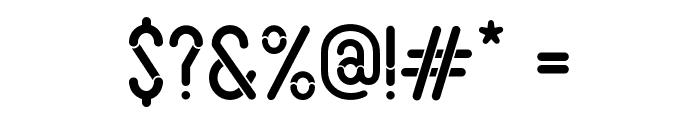 Slot Font OTHER CHARS