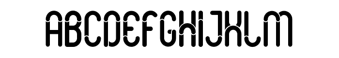 Slot Font UPPERCASE