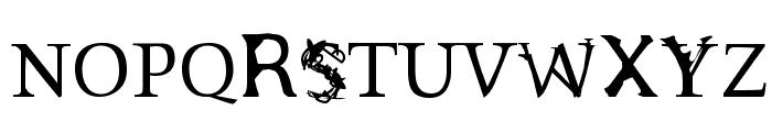 Sloth Font UPPERCASE