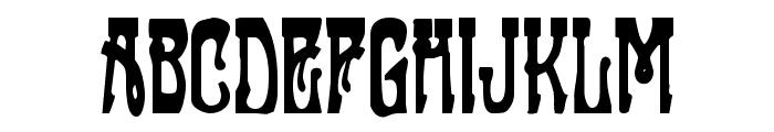Sluagh  Creepy Font UPPERCASE