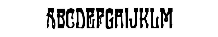 Sluagh  Creepy Font LOWERCASE