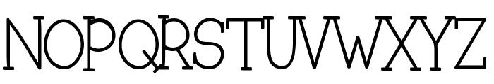 Slubby Slurpie Font UPPERCASE